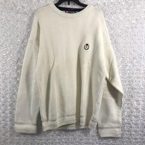 Chaps Men's Big & Tall Sweater Shirt Size Large